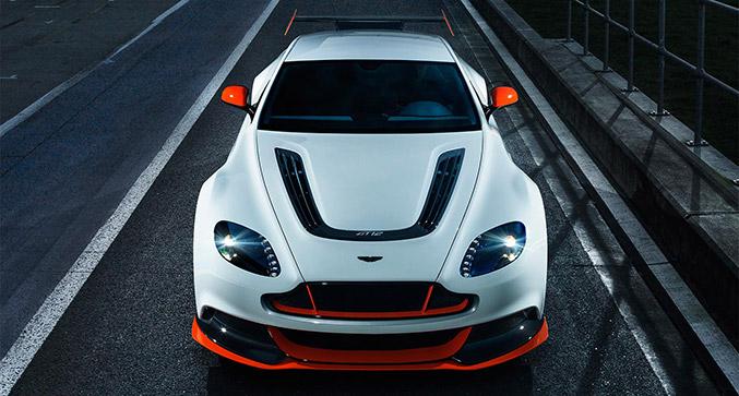 Aston Martin Vantage GT12 Front