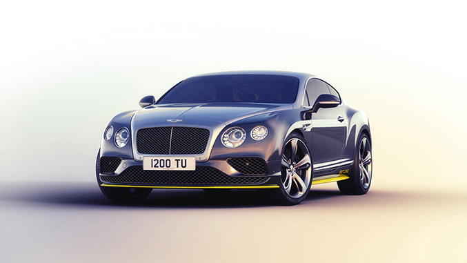 2016 Bentley Continental GT Speed Breitling Jet Team Series Front Angle