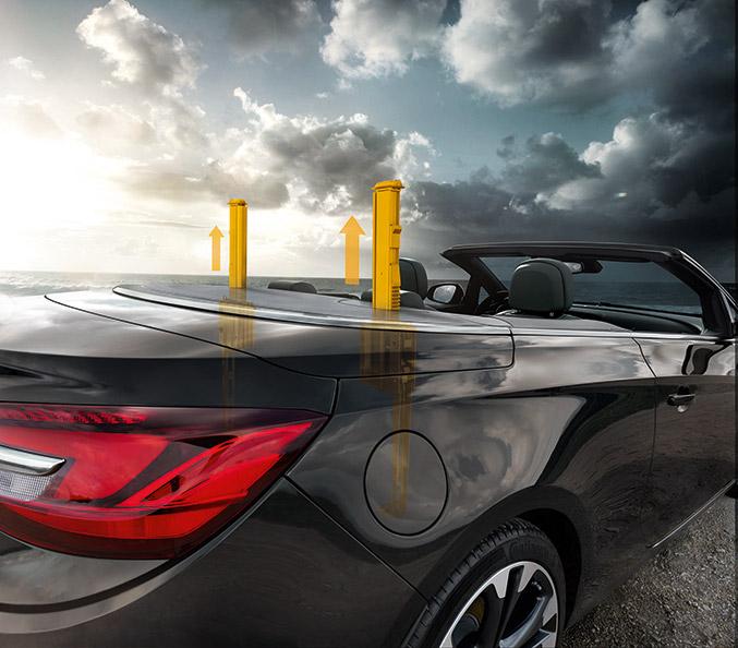 2016 Buick Cascada Convertible Rear Angle