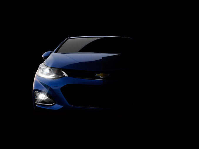 2016 Chevrolet Cruze Shadow Front