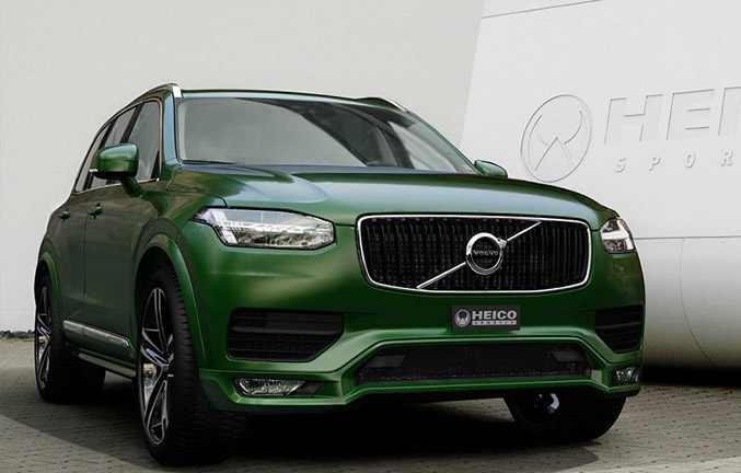 2015 Heico Sportiv Volvo XC90 Front Angle