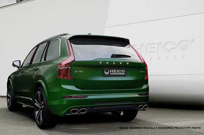 2015 Heico Sportiv Volvo XC90 Rear Angle