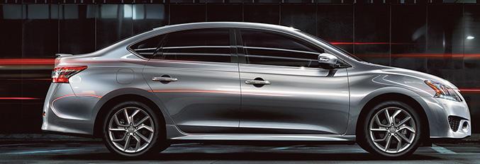 2015 Nissan Sentra Front Angle