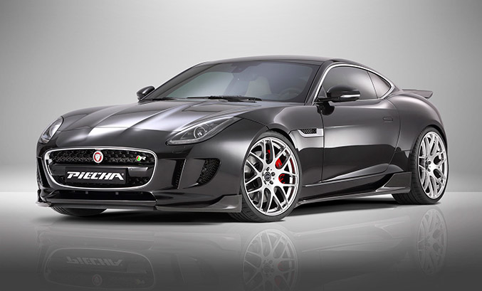 2015 Piecha Jaguar F-Type R-Coupe Front Angle