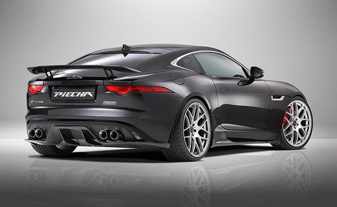 2015 Piecha Jaguar F-Type R-Coupe Rear Angle