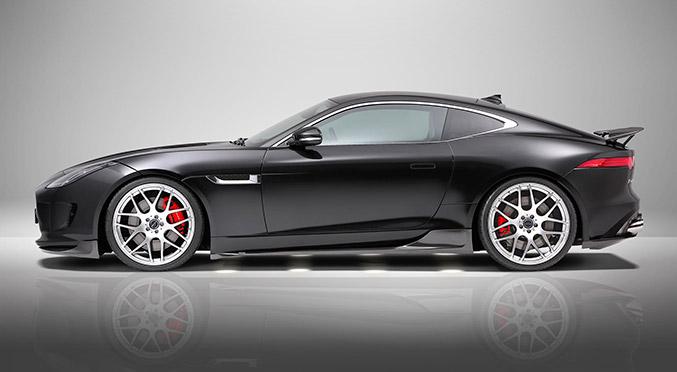 2015 Piecha Jaguar F-Type R-Coupe Side