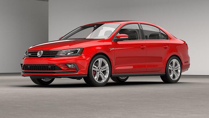 2016 Volkswagen Jetta GLI Front Angle