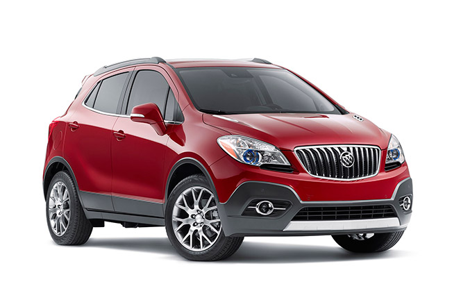 2016 Buick Encore Sport Touring Front Angle