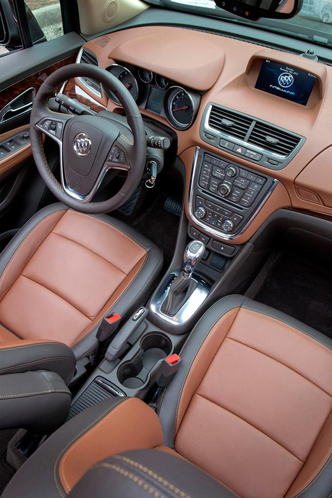 2016 Buick Encore Sport Touring Interior