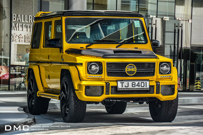 DMC G88 Limited Edition Mercedes G-Class Front Angle