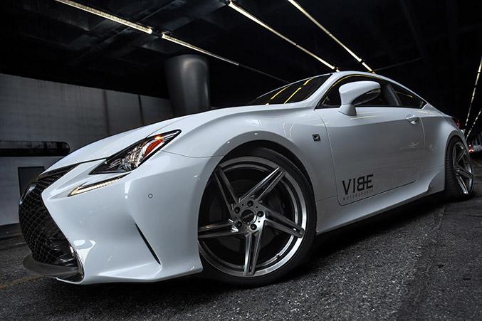2015 VIBE Motorsports Lexus RC350-F Sport Front Angle