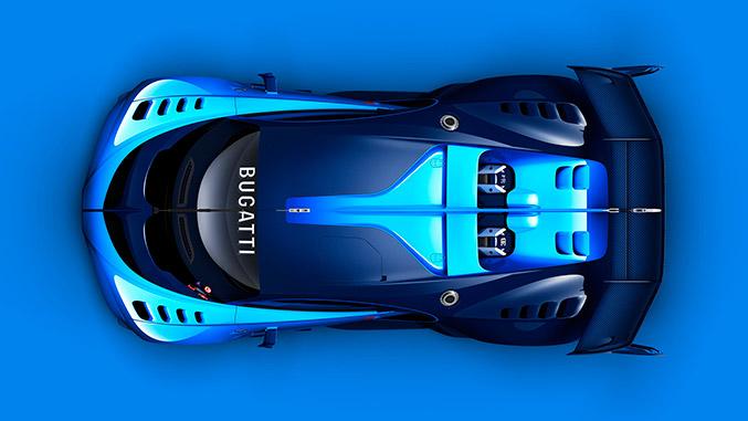 2015 Bugatti Vision Gran Turismo Concept Top Roof