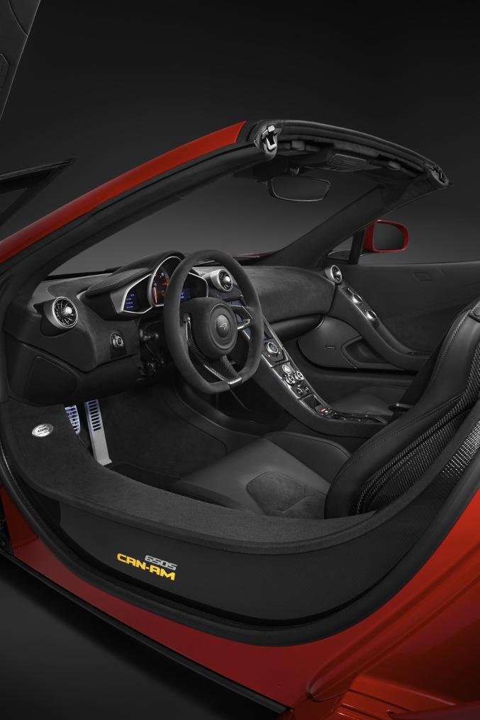 2015 McLaren 650S Can Am Interior