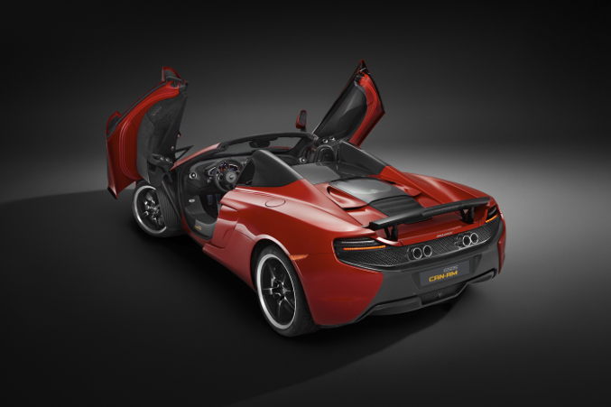 2015 McLaren 650S Can Am Rear Angle