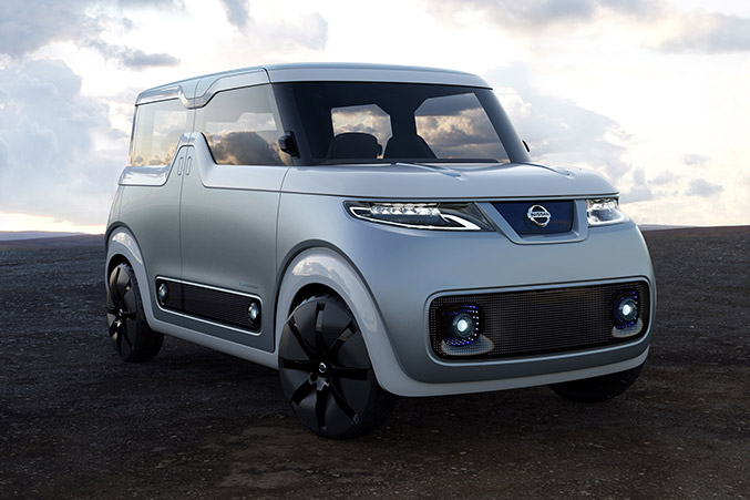 2016 Nissan Teatro for Dayz Concept Front Angle