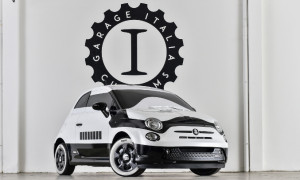 thumbnail The Fiat Brand Displays Custom Painted Fiat 500e - Star Wars