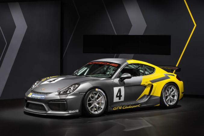 2016 Porsche Cayman GT4 Clubsport Front Angle