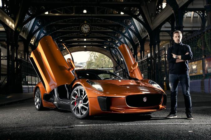 2015 Spectres Jaguar C-X75 Front Angle
