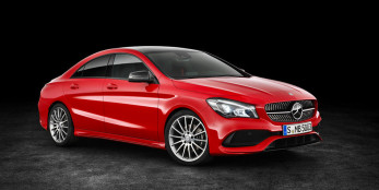 2017 Mercedes-Benz CLA Front Angle