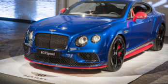 thumbnail BENTLEY GT SPEED, GT SPEED BLACK EDITION BREAK COVER IN NEW YORK CITY