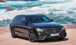 2016 Mercedes-AMG E43 4MATIC Estate Front Angle