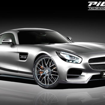 2016 Piecha Mercedes-Benz AMG GTS Front Angle