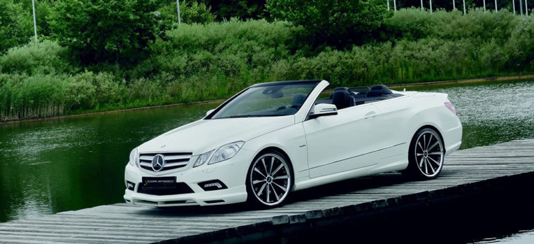 2016 Cor.Speed Performance Wheels Mercedes-Benz W207 Cabriolet Front Angle