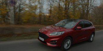 thumbnail Ford's Windscreen Weather Station Clears View Ahead for Kuga Drivers