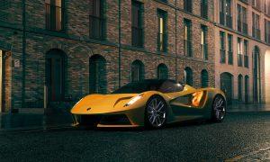 "thumbnail ""The world's most premium sustainable car"": Lotus Evija"