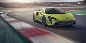 thumbnail McLaren Automotive unveils ground-breaking all-new high-performance hybrid lightweight Artura supercar