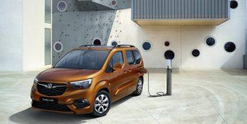 thumbnail Vauxhall reveals new Combo-e Life