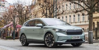 thumbnail The future has arrived: SKODA UK retailers open order books for all-new, all-electric Enyaq iV