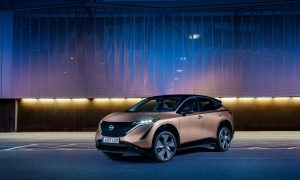 thumbnail Nissan unveils the colours designed for the new electric age with Ariya's paint palette