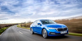 "thumbnail SKODA Octavia wins the ""Family Car"" category at the 2021 Women's World Car of the Year awards"