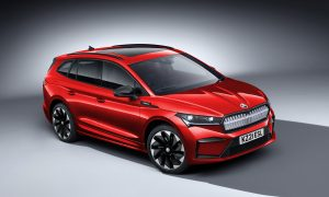 thumbnail ŠKODA Enyaq iV line-up charges ahead with new SportLine model open for orders