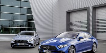 thumbnail Sportier look and greater individualisation for the CLS