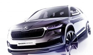 thumbnail Three design sketches offer a first glimpse of the revised ŠKODA Kodiaq