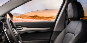 thumbnail Wanderlust: Alfa Romeo Stelvio now with new Instagram-inspired 'filter windows' gives drivers sensation of travelling through Italian beauty spots
