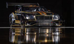 thumbnail Renewable fuel to power Continental GT3 to the clouds – Bentley's 2021 Pikes Peak racer unveiled