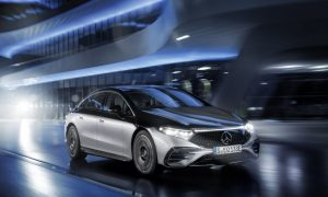 thumbnail The EQS: the first electric vehicle in the luxury class