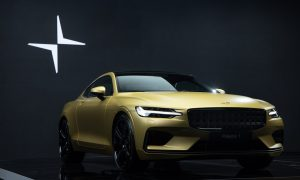 thumbnail Polestar 1 special edition is a truly golden halo car