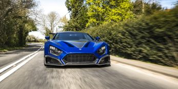thumbnail Zenvo Automotive's TSR-S arrives in the UK ahead of summer events programme