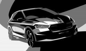 thumbnail ŠKODA releases exterior design sketches of the new Fabia