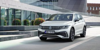 thumbnail The new Tiguan Allspace: new control and assist systems for the bestseller