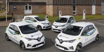 thumbnail Renault Zoe Van helps to power change in the SSE fleet