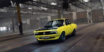 thumbnail Opel Manta GSe ElektroMOD celebrates 50th anniversary and looks forward to an electric future