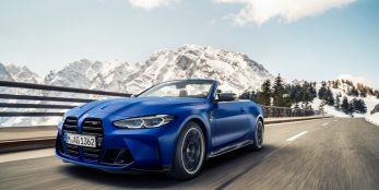 thumbnail The new BMW M4 Competition Convertible with M xDrive