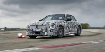 thumbnail On the final straight to unique driving dynamics: The new BMW 2 Series Coupé