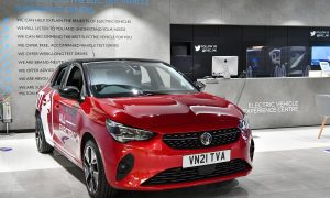 thumbnail Vauxhall supplies new all-electric Corsa-e and Mokka-e models to the Electric Vehicle Experience Centre