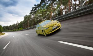 thumbnail Test marathon: All-New Vauxhall Astra on the finishing straight
